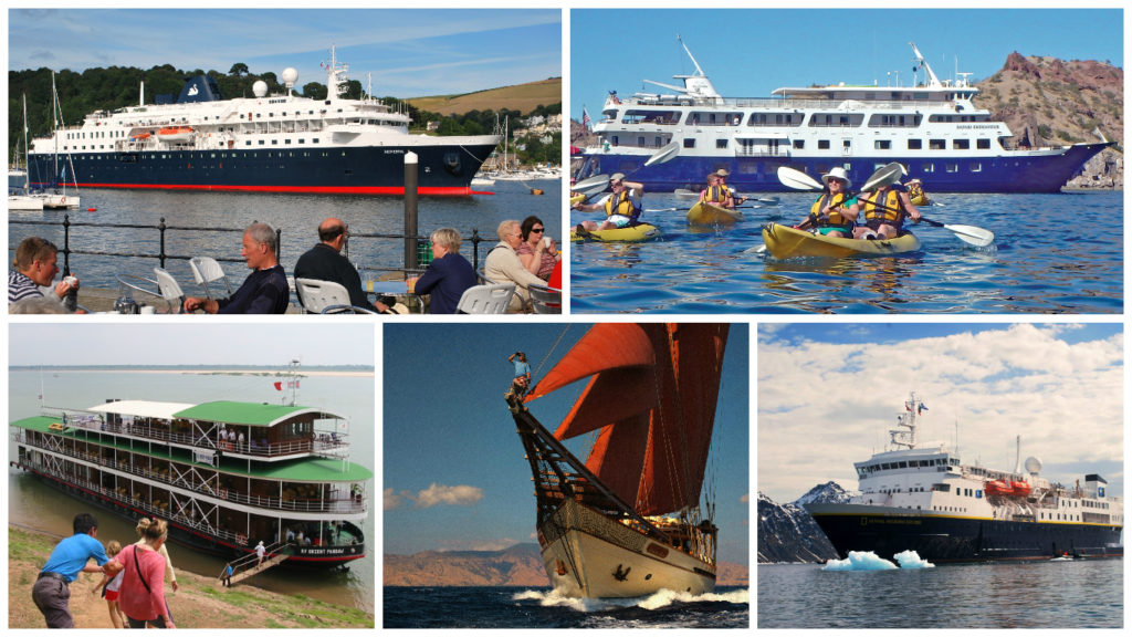 5 Types Of Small Ship Cruises Quirky Cruise
