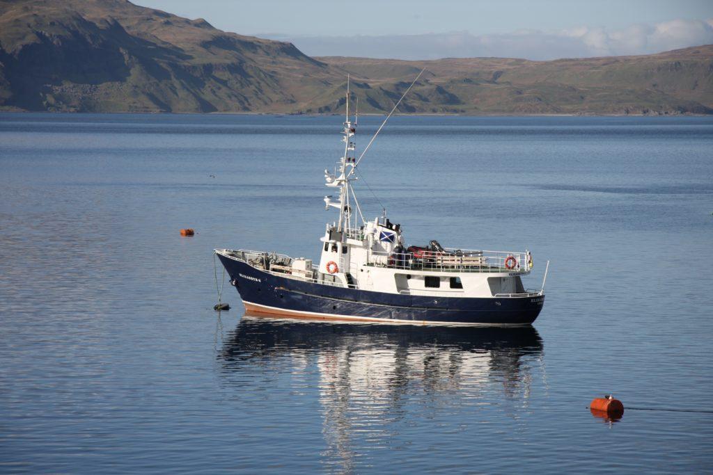 ELIZABETH G. * Photo: Hebrides Cruises