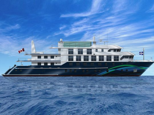 A new line joins pool of small ship cruise lines