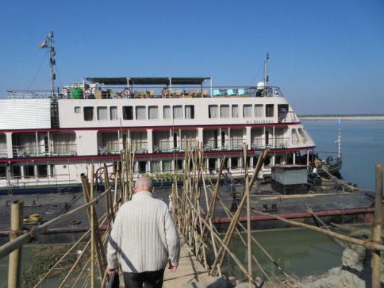 Mahabaahu on Brahmaputra River