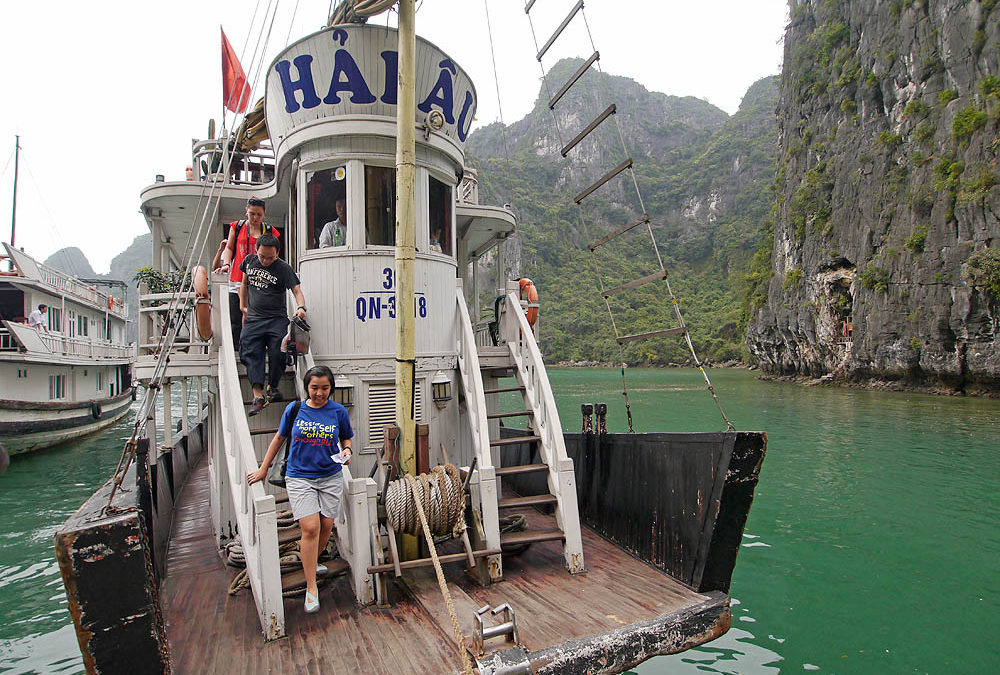 Small Ship Cruise Photo Essay: Vietnam's Halong Bay & Hanoi