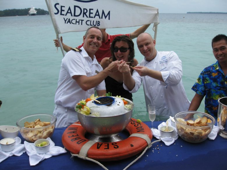 small ship cruises with Seadream
