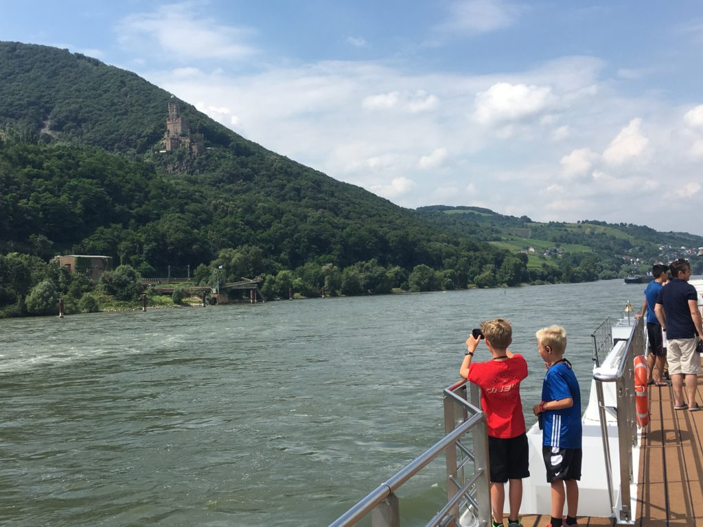 small ship cruises on the Rhine