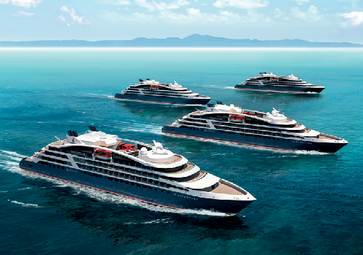 Small Ship Cruise News: More Details Released on the 4 Ponant Explorers