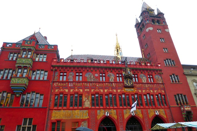 Basel Town Hall.