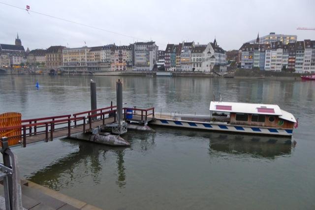 Basel riverfront.