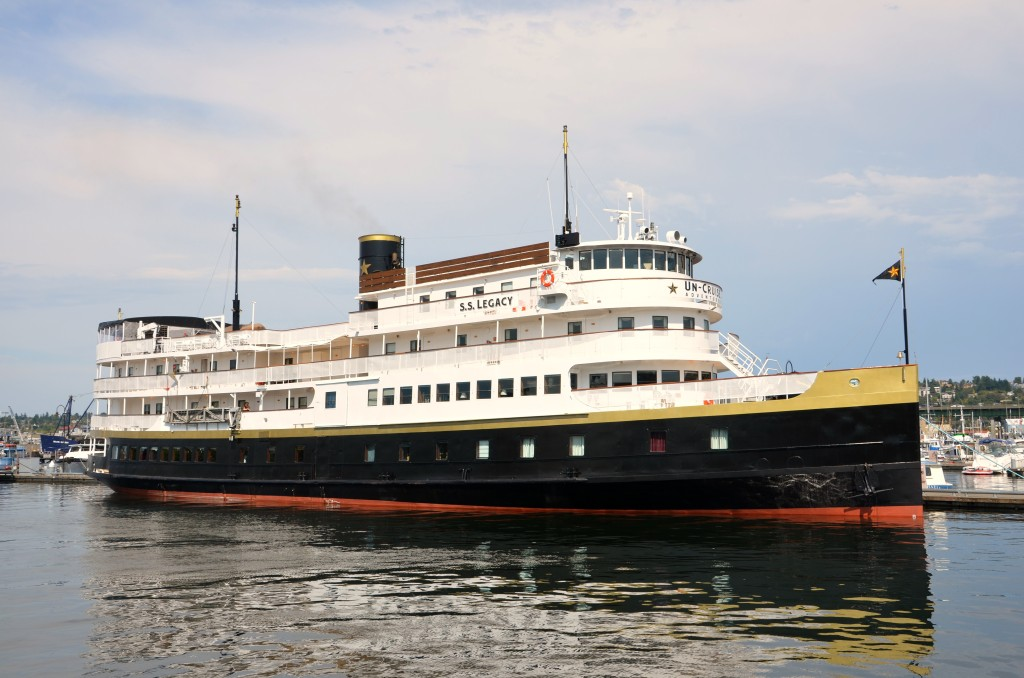 The Ss Legacy Is A Classic Coastal Vessel Inside And Out