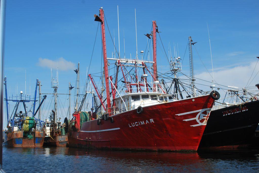 New Bedford's deep-sea fishing fleet