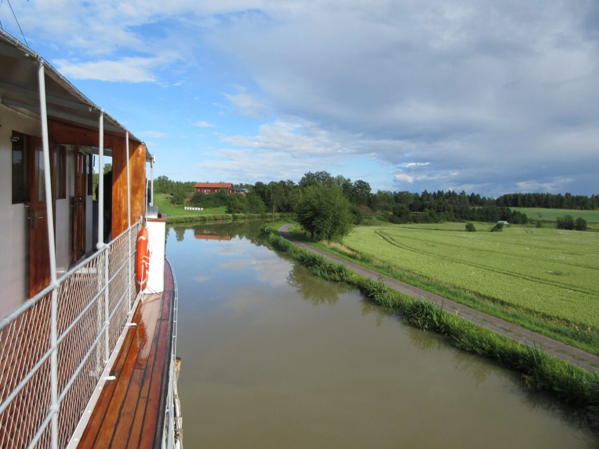 A quirky cruise along Sweden's Gota Canal