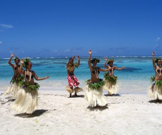 The dancers of French Polynesia are mesmerizing and so is the backdrop. * Photo: Heidi Sarna