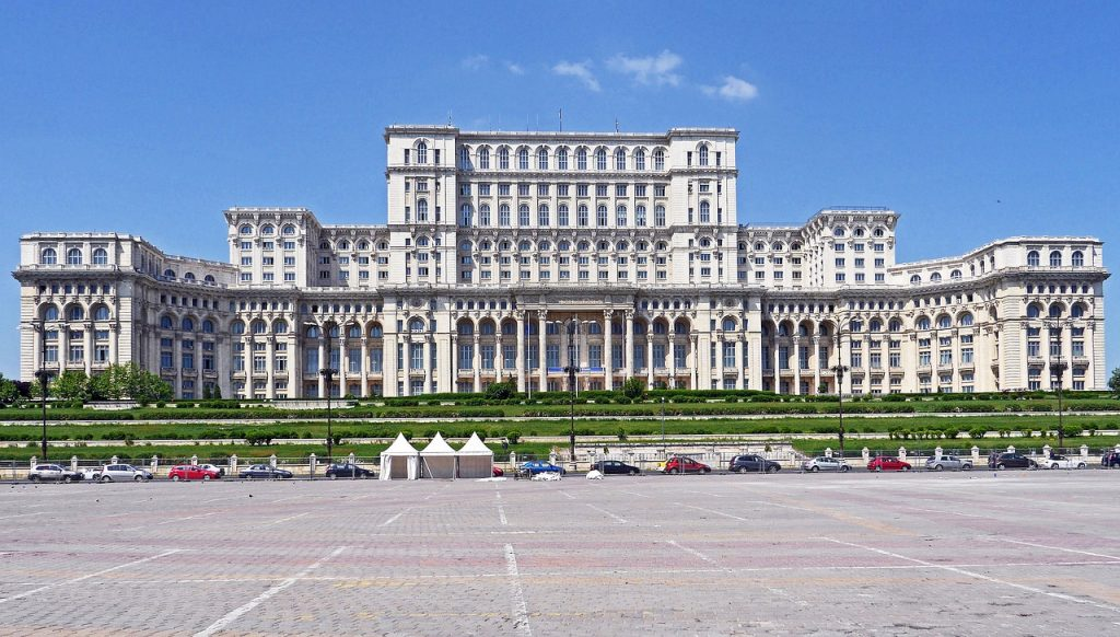 Bucharest Parliament, The Palace