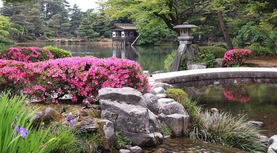Kenrokuen Garden, Kanzawa, Japan