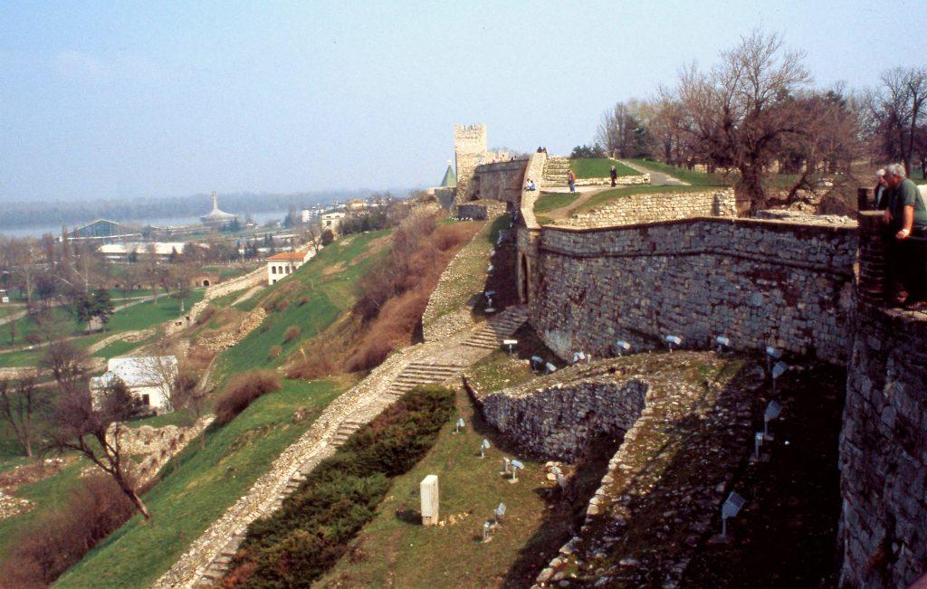 The city walls, Belgrade, Serbia