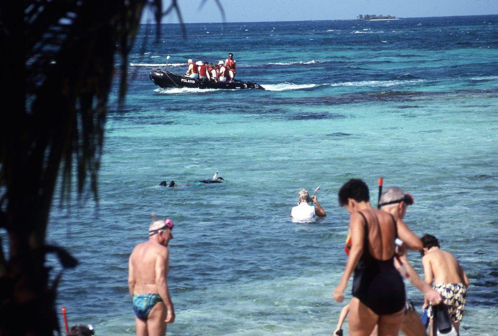 Snorkeling was a favoriute activity.