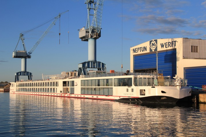 Viking River Cruises New Vessels