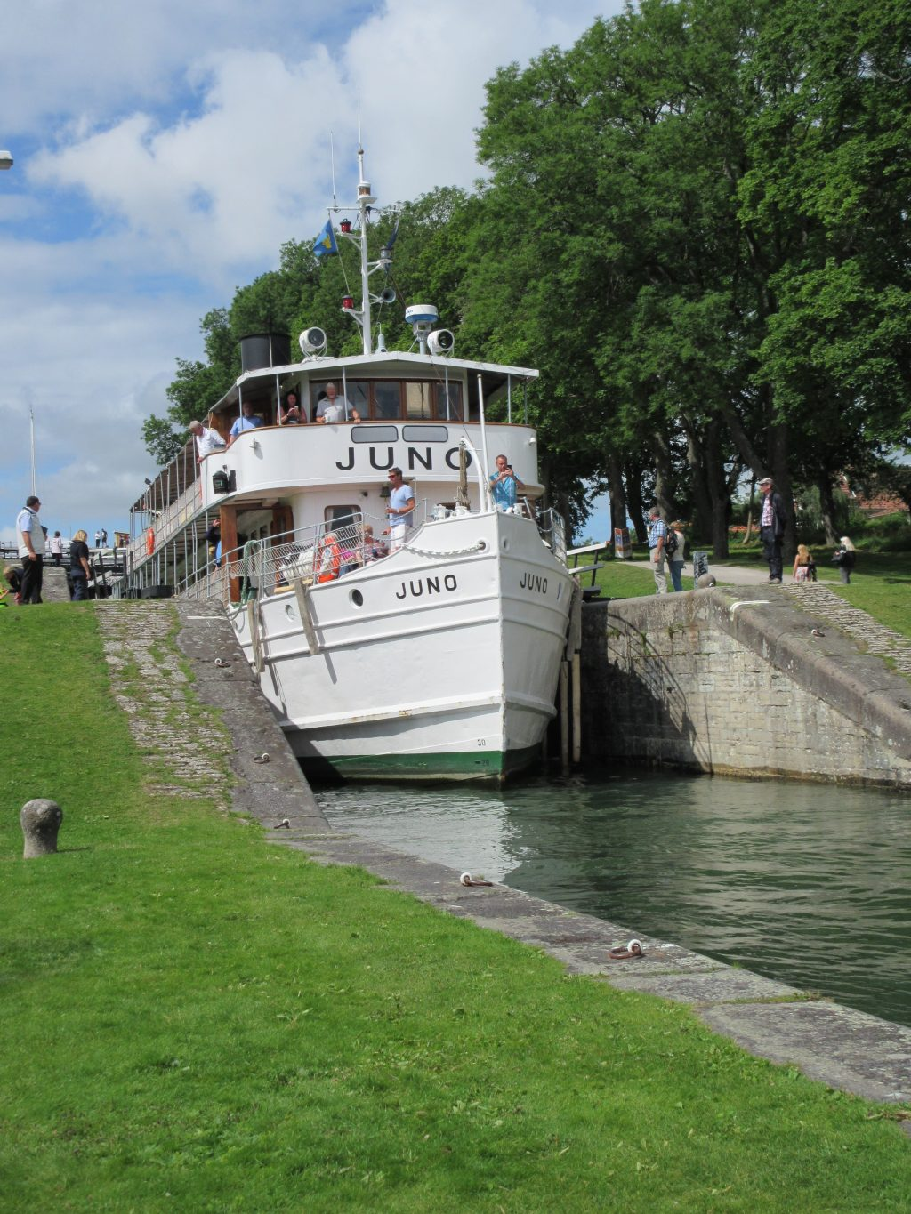 Europe Canal Transits