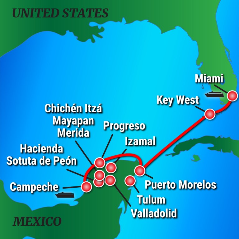Quirkycruise News Victory Cruises To The Yucat 225 N For New All Inclusive Cruise Land Program