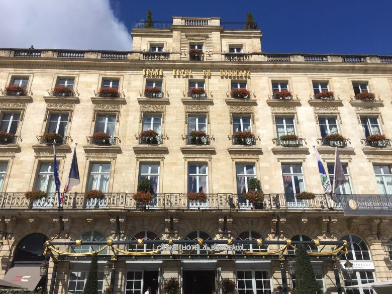 Bordeaux S 19th Century Intercontinental Hotel By Heidi Sarna Quirky Cruise