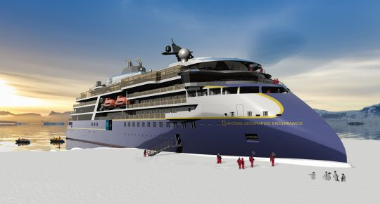 Lindblad's New National Geographic Endurance