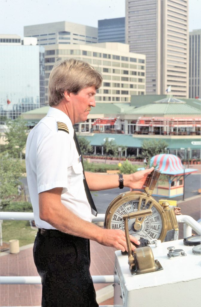 small ship cruise captain