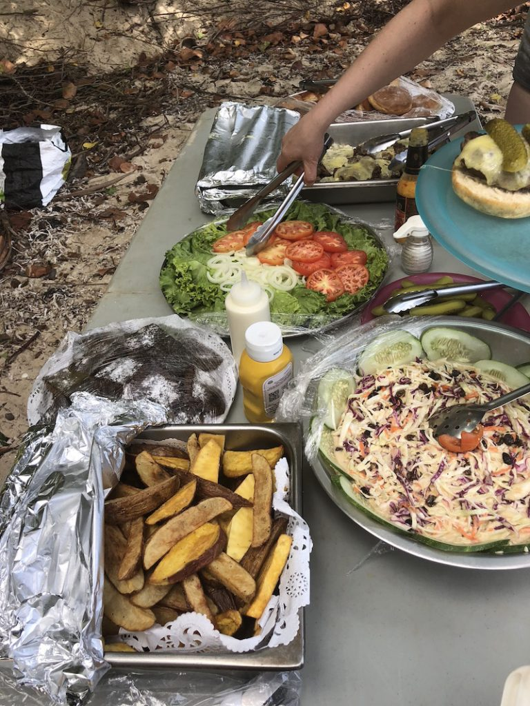 Island Windjammers' Caribbean Sailing Adventure sets out home made meal