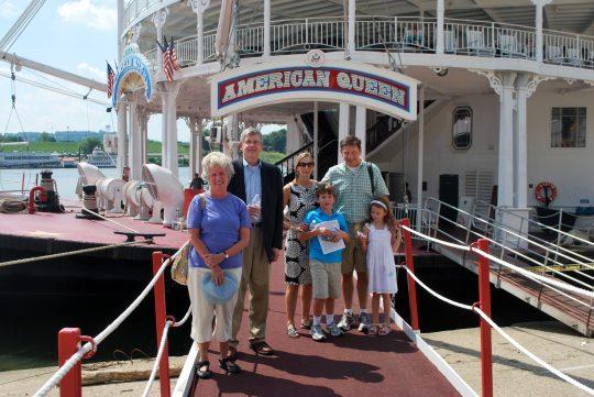 Steamboat American Queen