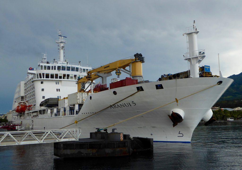 Aranui Cruise in Papeete