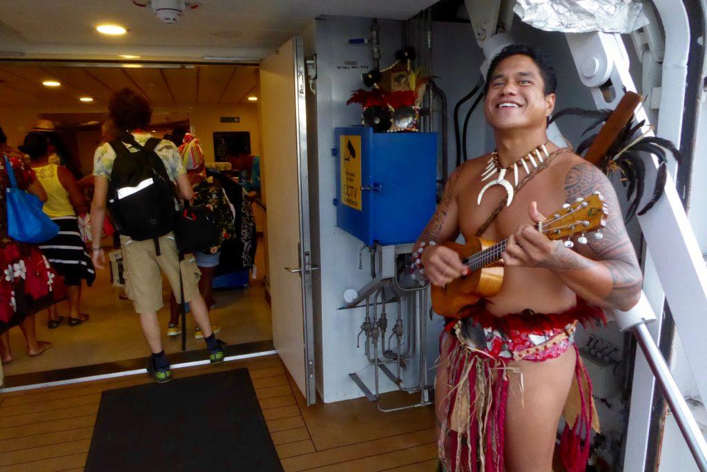 Aranui Cruises welcome aboard