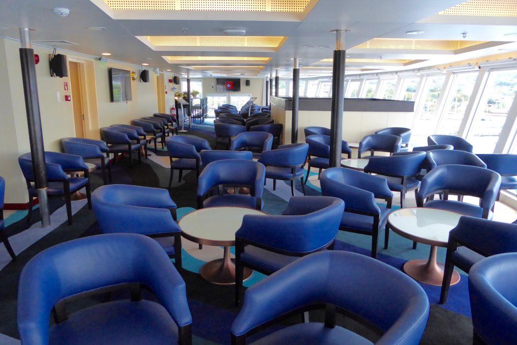 Aranui Cruises sky bar