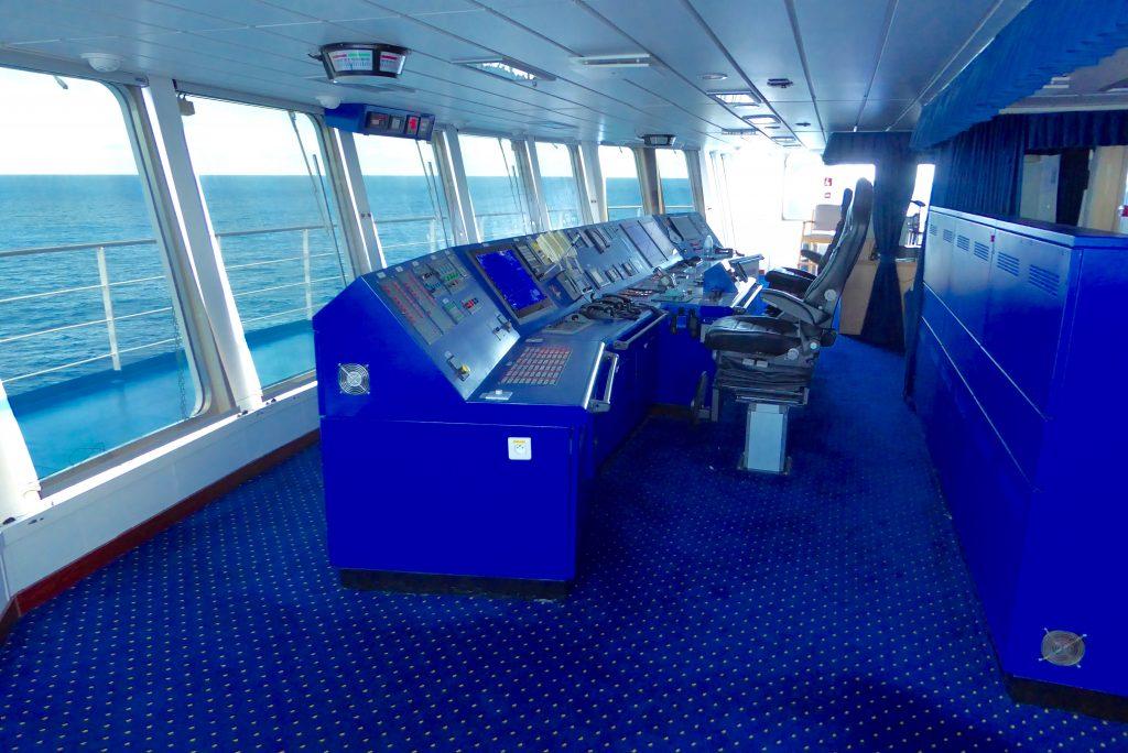 Aranui Cruises ARANUI 5 wheelhouse