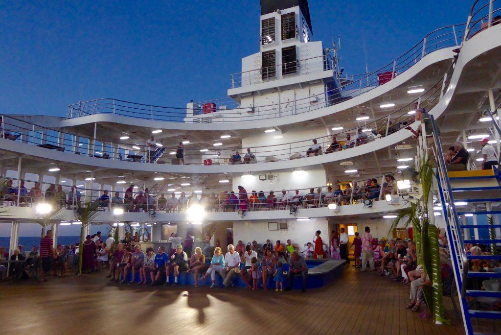 Aranui Cruises welcome party