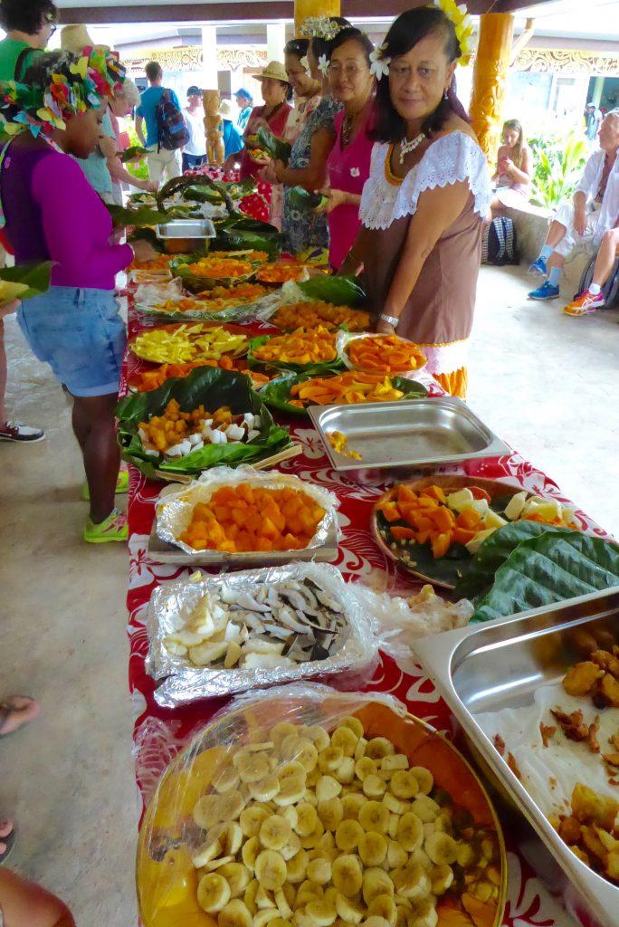 Aranui Cruises visit to Ua Pou