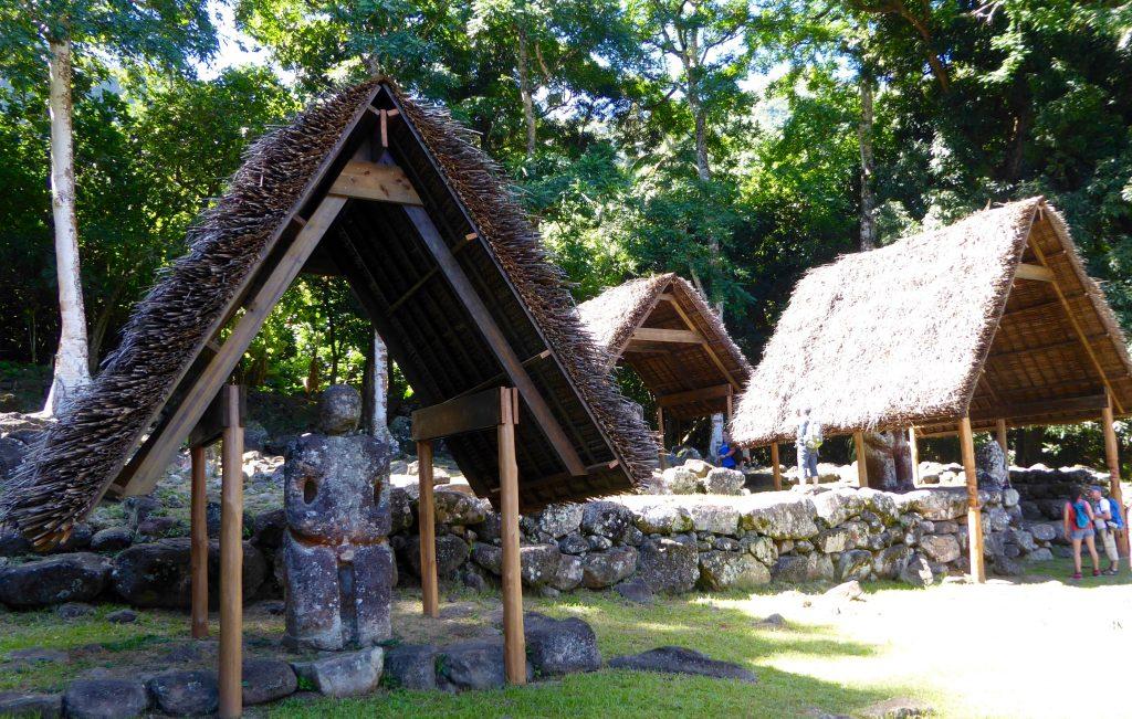 I'ipona archaeological site with Aranui cruises