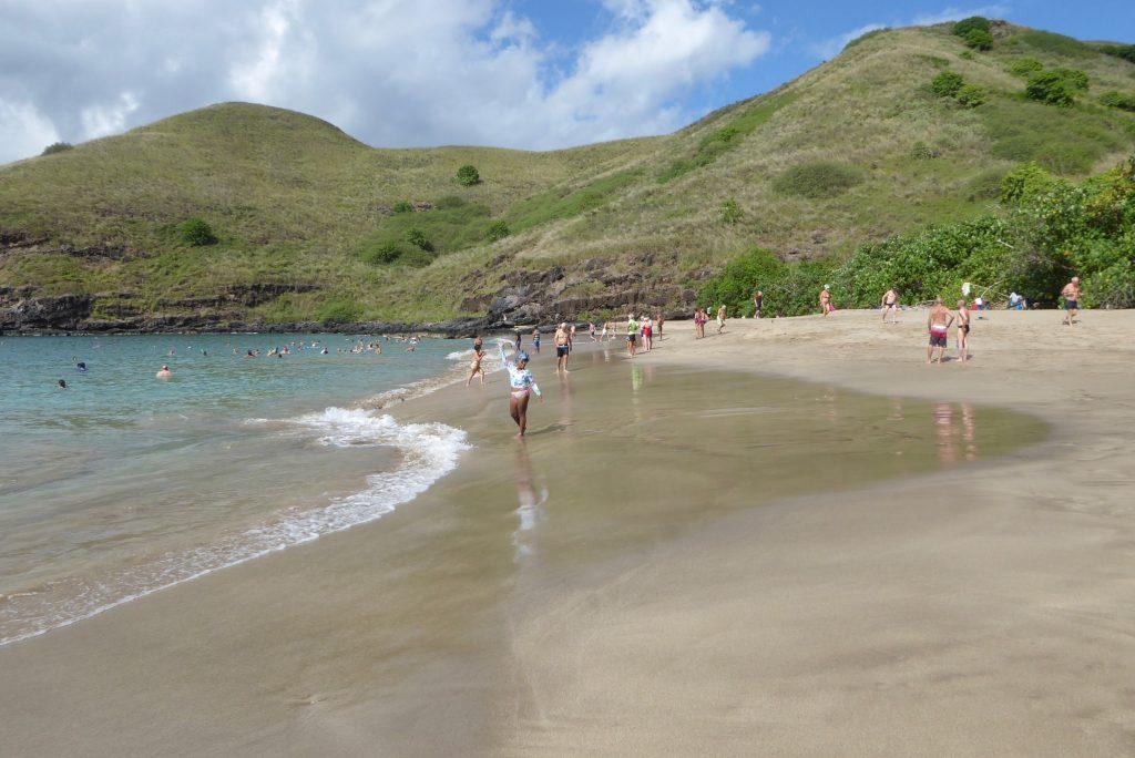 Tekokuu, Tahuata beach