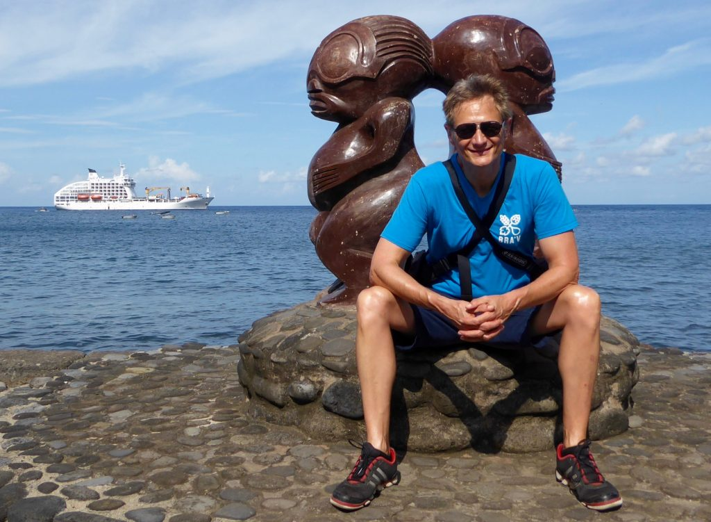 Author Peter Knego on an Aranui Cruises adventure