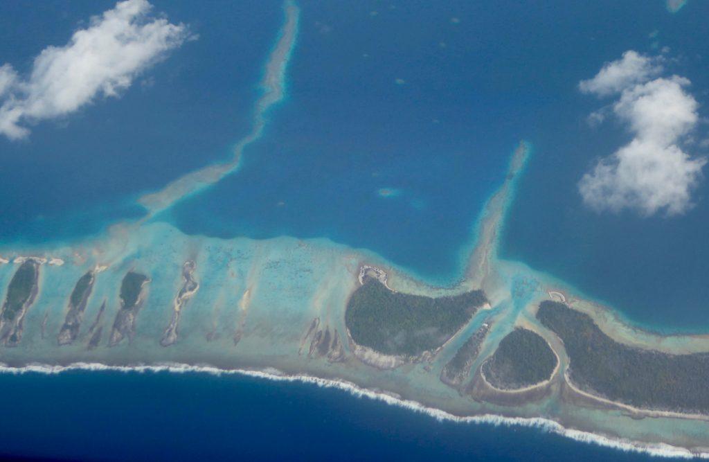 aranui cruises flight home