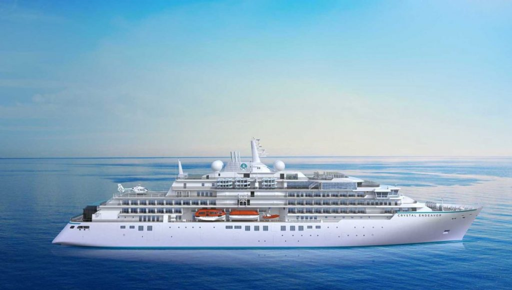Crystal Cruises Tom Wolber