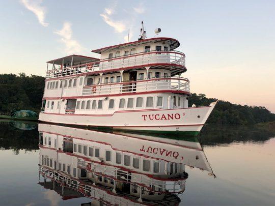 Small Ship Amazon Cruising