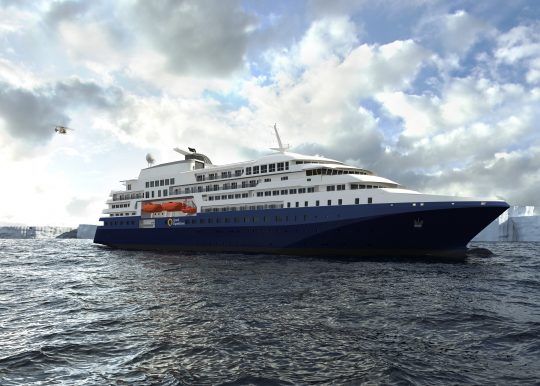 Quark Expeditions Building New Ship