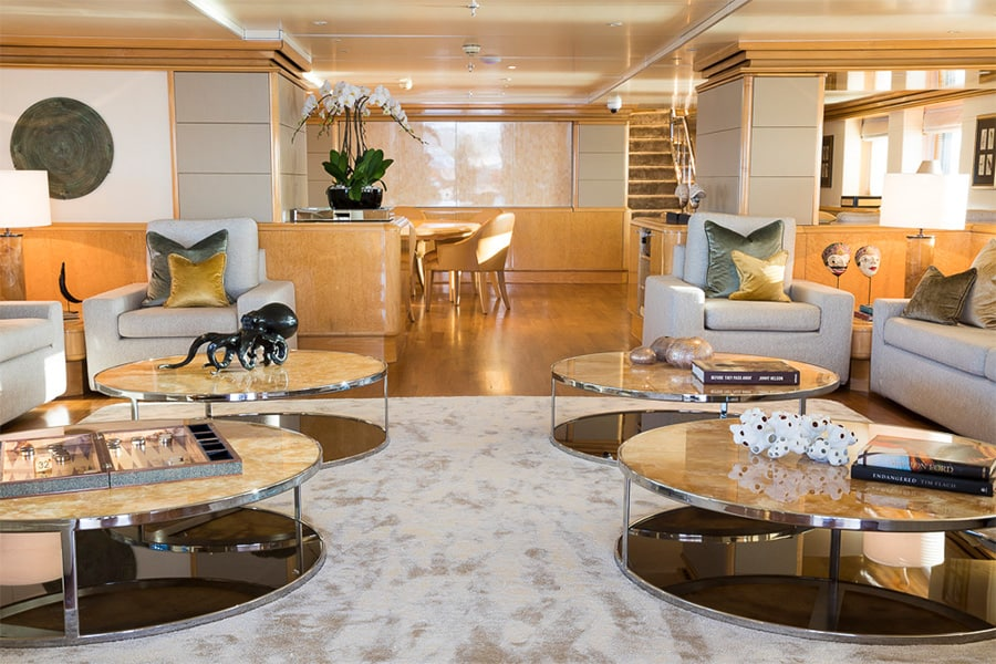 Aqua Expeditions lounge