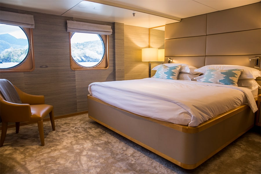Aqua Expeditions cabin
