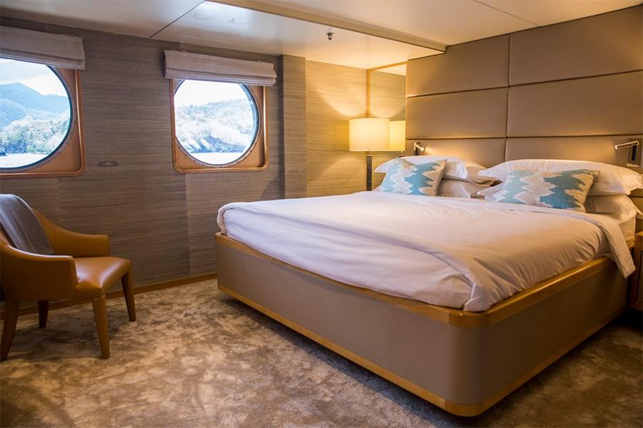 Aqua Expeditions cabin