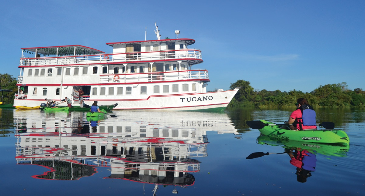 aturetours.com Upgrades Amazon Vessel Tucano