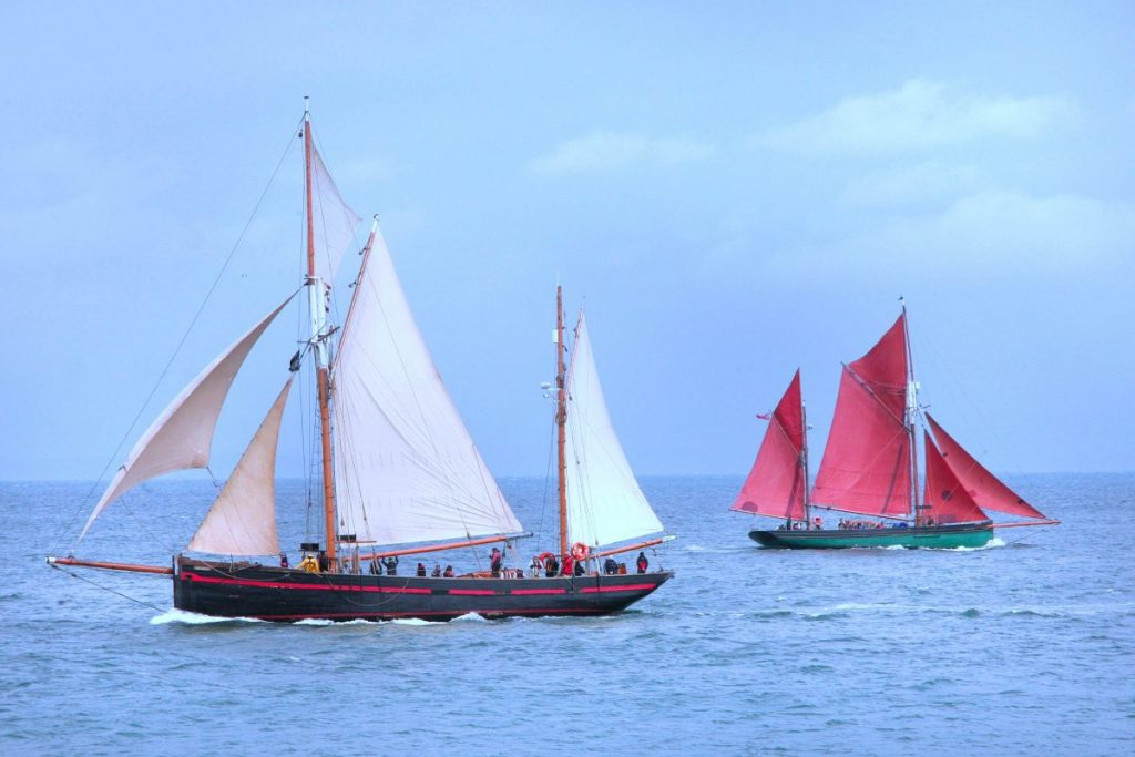 Benefits of sailing in an old ship