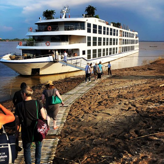 Scenic Spirit on Mekong River