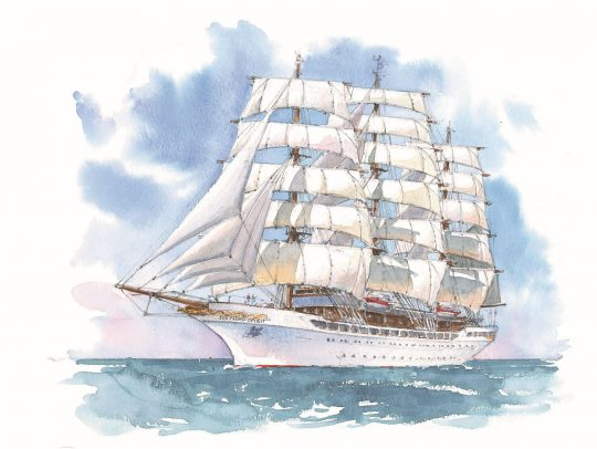 Sea Cloud Building Another Tall Ship