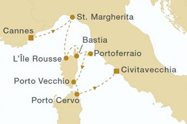 Royal Clipper Cruise to Corsica, Elba & Sardinia