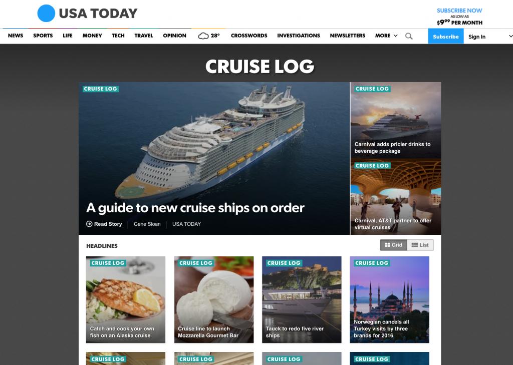 Cruise Expert Gene Sloan Talks T