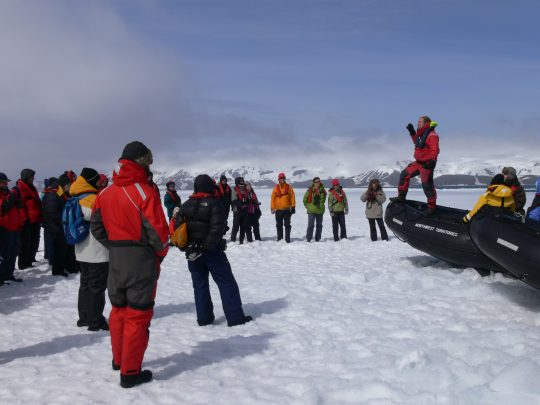 Polar Tourism Guides Association (PTGA) Update
