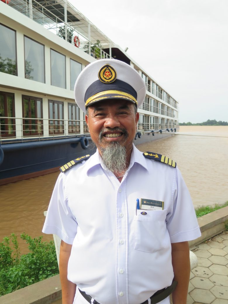 AmaWaterways Mekong River Boat Captain